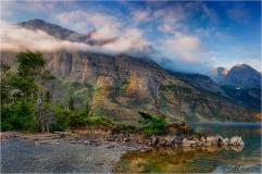 Glacier-Upper-St-Maries-Sunrise