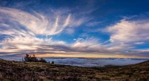 Haleakala-Early-Sunset-