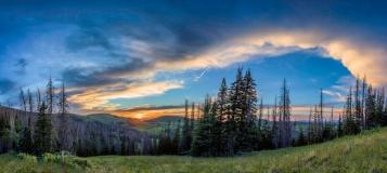 Lake-Creek-Early-Sunset-